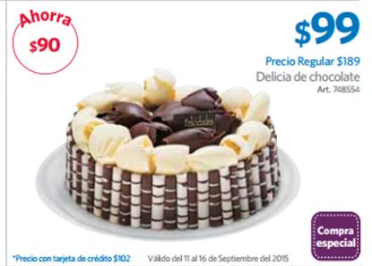CUPONERA SAM'S CLUB: PASTEL DE $189 EN $99, TEQUILAS AL 4x3 Y MAS