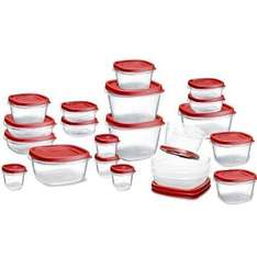 Amazon Mx Set de contenedores 42 piezas Rubbermaid $306