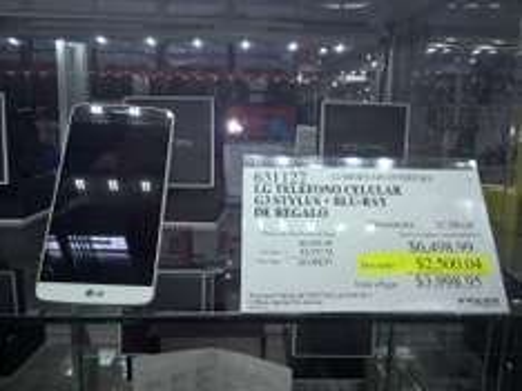 Costco: Celular LG G3 Stylus + Blu-Ray por $3,998.95