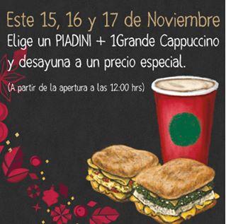 Promociones del Buen Fin 2013 en restaurantes y comida (Starbucks, Domino's, etc)