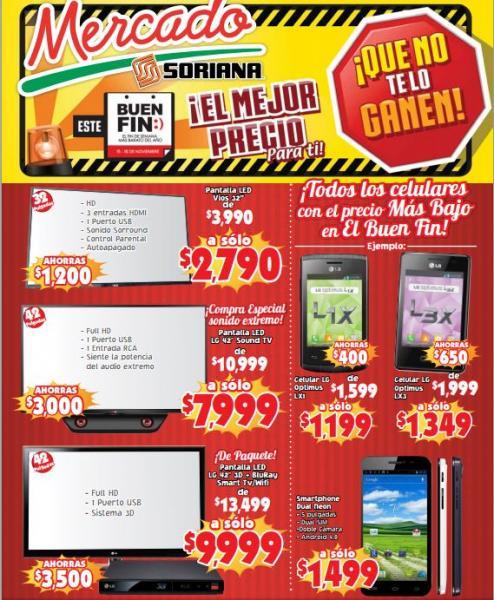 Folleto de ofertas del Buen Fin 2013 en Mercado Soriana