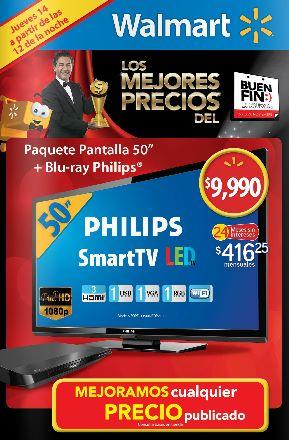 Folleto de ofertas del Buen Fin 2013 en Walmart