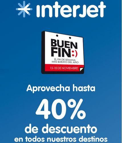 Promoción del Buen Fin 2013 en Interjet