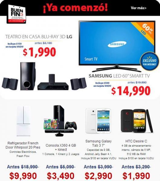 Ofertas completas del Buen fin 2013 en Walmart online