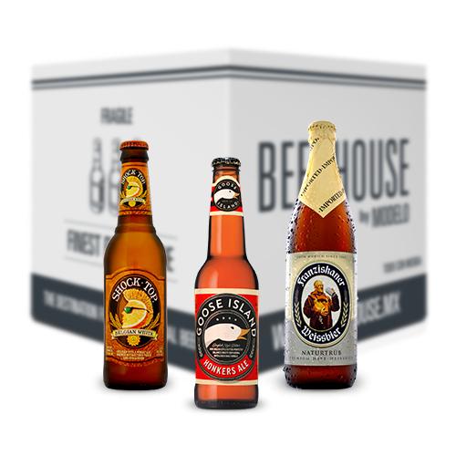 BeerHouse primer pack de cervezas con el 30% de Descuento hasta 6/09/2015