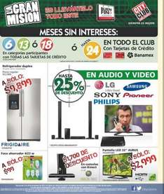 Folleto de ofertas del Buen Fin 2013 en City Club