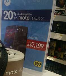 Best Buy: Moto Maxx - $7,199
