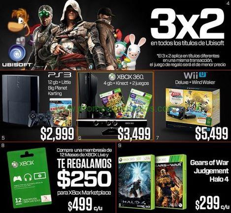 Ofertas del Buen Fin 2013 en Gamers: Halo 4 $299, 3x2 en juegos de Ubisoft y Warner y +