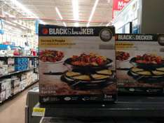 WALMART Multi Use Raclette, Black&Decker $319.02