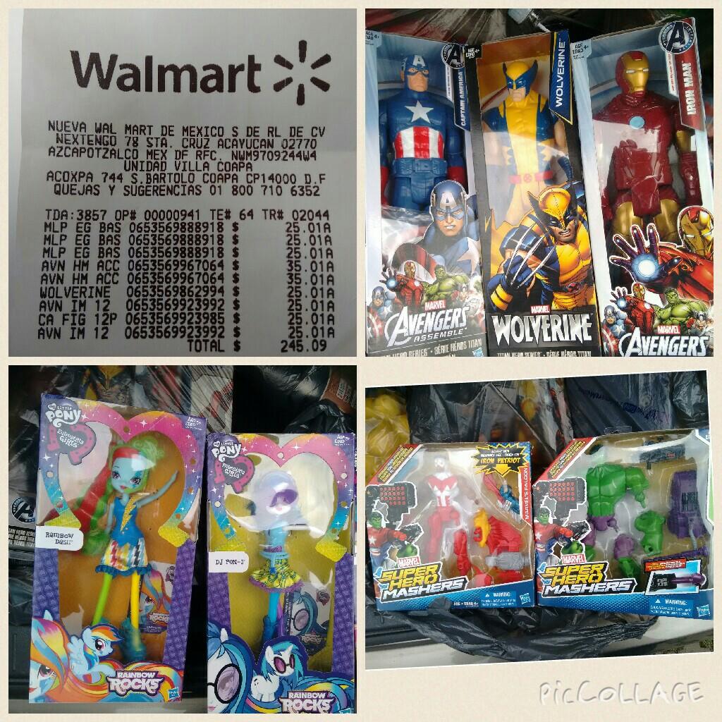 Walmart: liquidación en diversos juguetes
