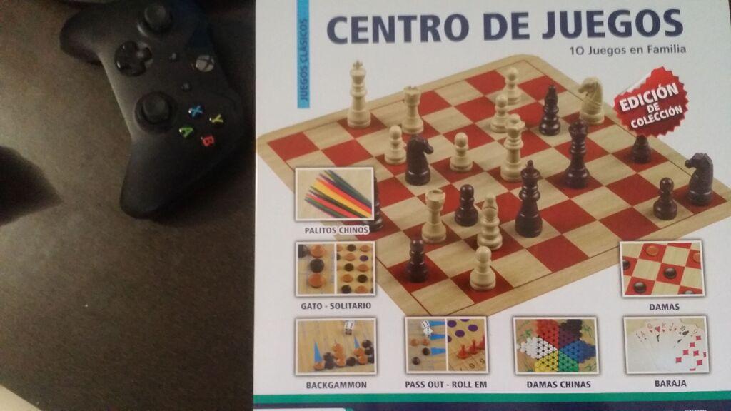 WALMART: Centro de Juegos Ajedrez Damas Multitablero Etc... a $45.02