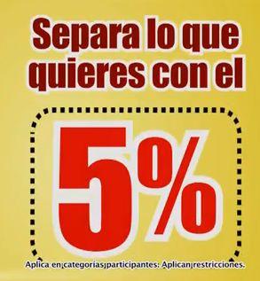 Soriana: aparta productos para el Buen Fin con el 5%
