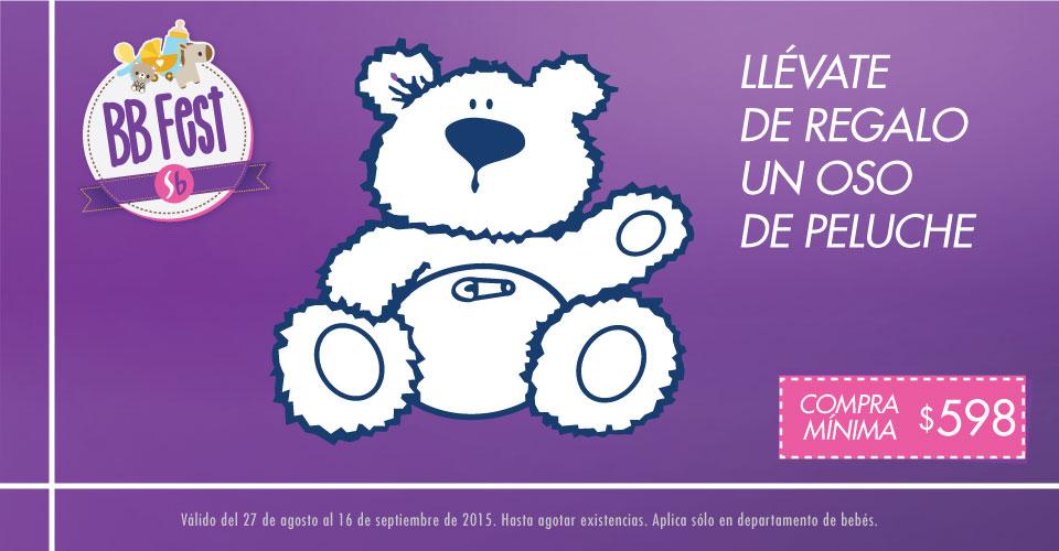 Suburbia bebé fest: oso de peluche de regalo con compra, 30% en Baby Mink y más
