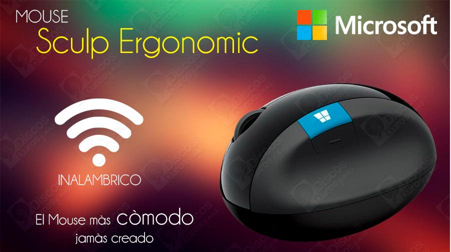 discosdurosymas.com: Mouse Microsoft Sculpt de $999 a $349 y otras ofertas microsoft