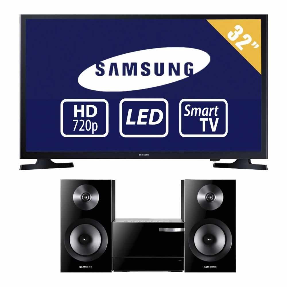 "Walmart: Pantalla samsung smart tv 32"" + microcomponente Samsung a $5,999"