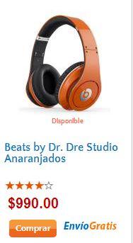 Adelanto ofertas El Buen Fin 2013 en Walmart: audífonos Beats by Dr. Dre $990