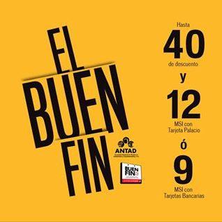 Ofertas del Buen Fin 2013 en Palacio de Hierro (actualizado)