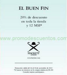Ofertas del Buen Fin 2013 en Brooks Brothers, Pal Zileri, Hackett y Pronovias