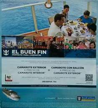 Ofertas del Buen Fin 2013 en Magnichartes y cruceros Royal Caribbean