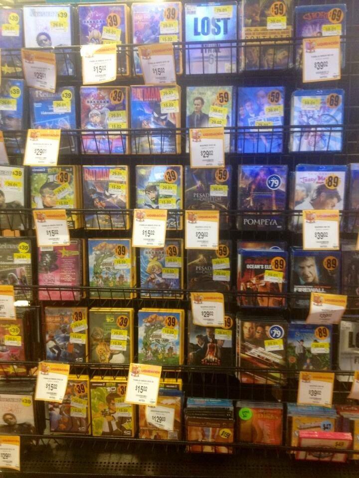 Walmart varias liquidaciones (películas, hogar, deportes)
