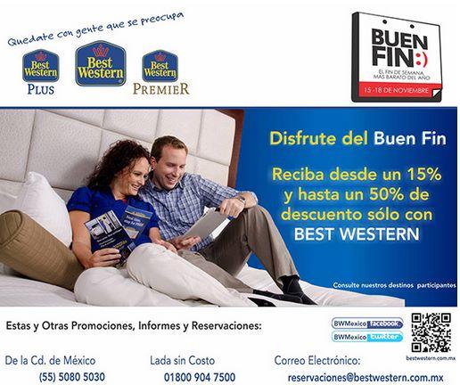 Ofertas del Buen Fin 2013 en hoteles Best Western