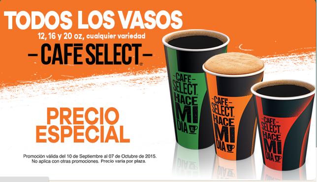 7 Eleven: Todos los Cafes a precio especial