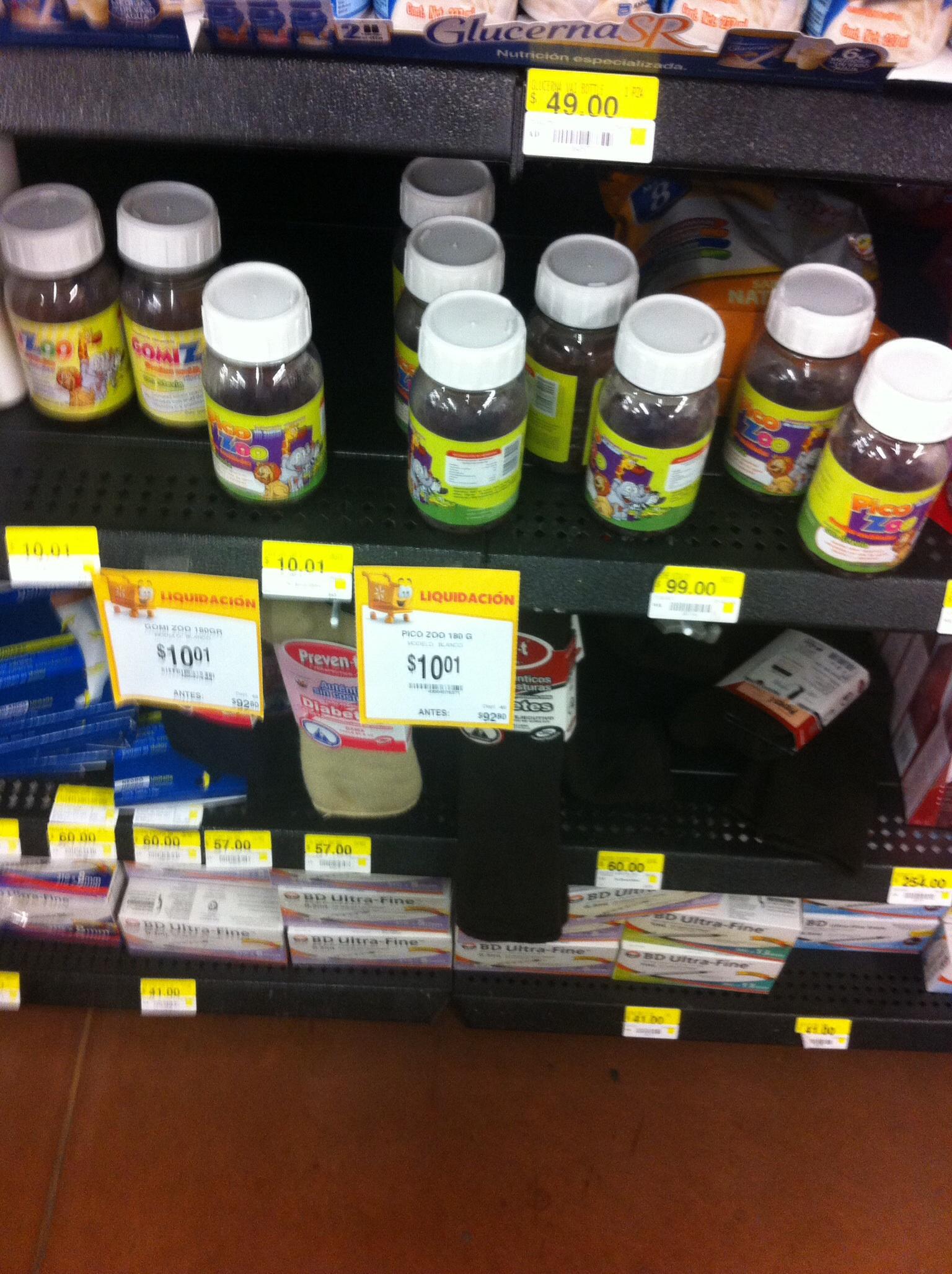 Walmart: Vitaminas en gomitas $10.01