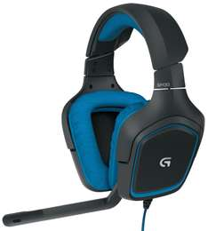 AMAZON: Logitech G430 Surround Sound Gaming Headset with Dolby 7.1 Technology