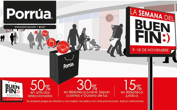 Ofertas del Buen Fin 2013 en Porrúa y Apple Campus Stores