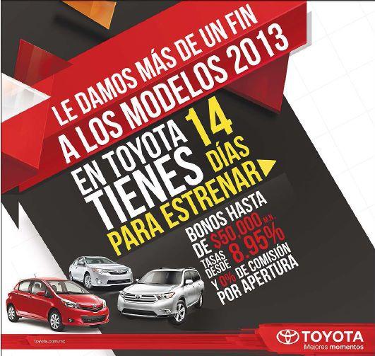 Ofertas del (pre) Buen Fin 2013 en Toyota