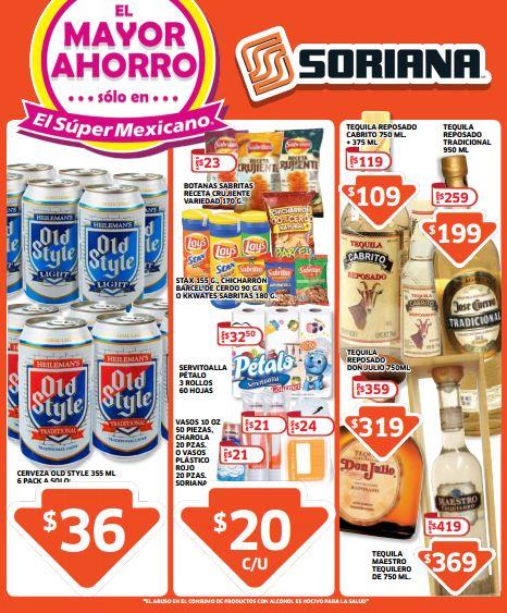 Folleto de ofertas Soriana del 12 al 25 de septiembre