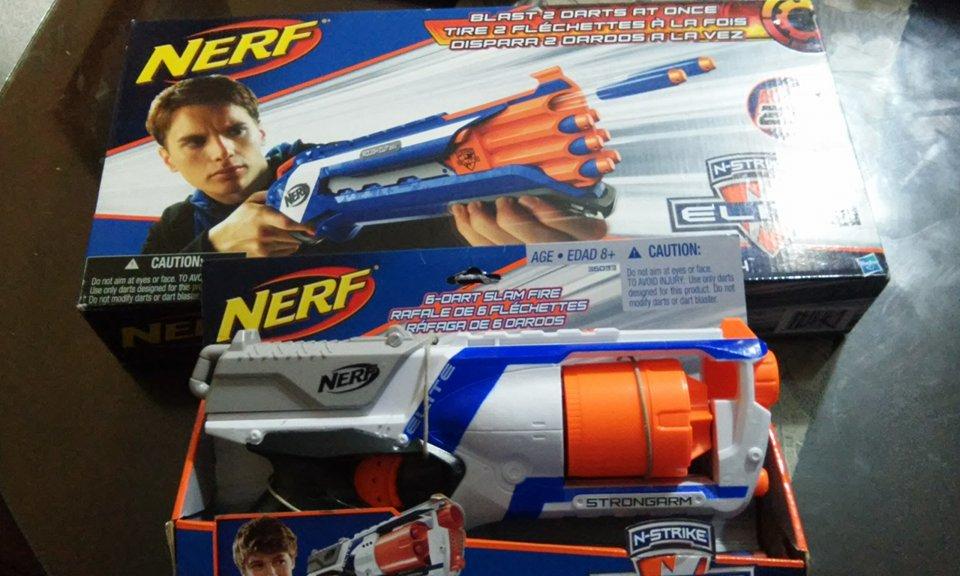 Bodega Aurrerá: pistolas Nerf en liqudiación