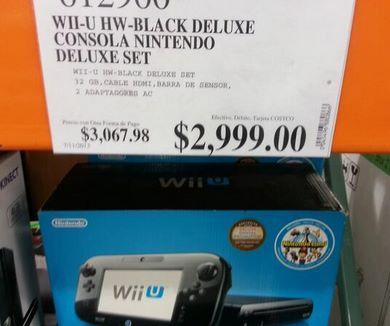 Costco: WiiU Deluxe $2,999