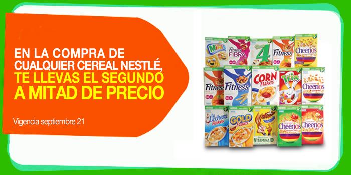 La Comer: 2x1 y medio en cereales Nestlé (y 2 por $60 en Walmart)