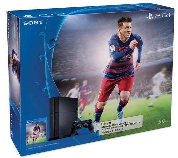 Liverpool: PS4 Fifa 16 Bundle + Paga hasta Enero.