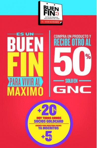 Ofertas del Buen Fin 2013 en GNC