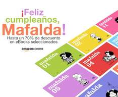 Amazon.com.mx: Ebooks de Mafalda con 70% de descuento