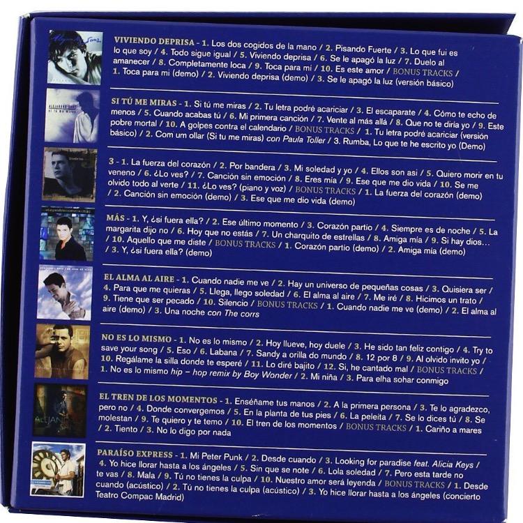 Amazon : Alejandro Sanz Álbumes de estudio 1991-2009