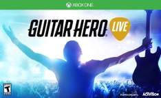 Amazon: Bundle Guitar Hero Live Xbox One y PS4 $1,562