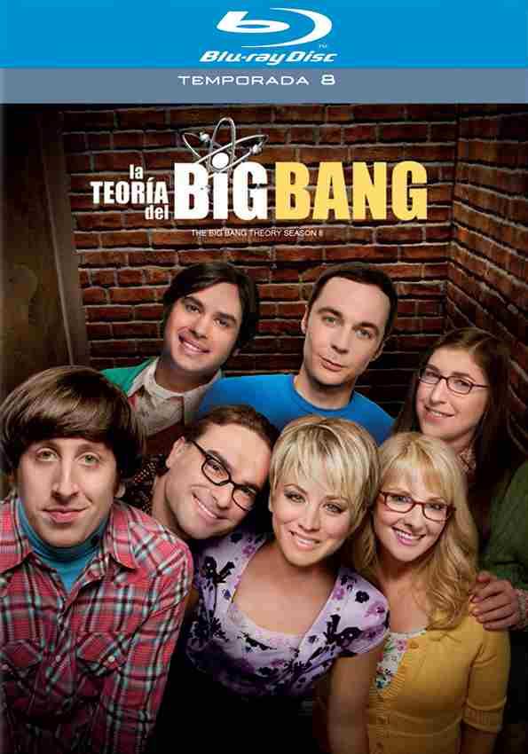 Blockbuster: The Big Bang Theory temporada 8 bluray o DVD $160 y envío gratis a tienda