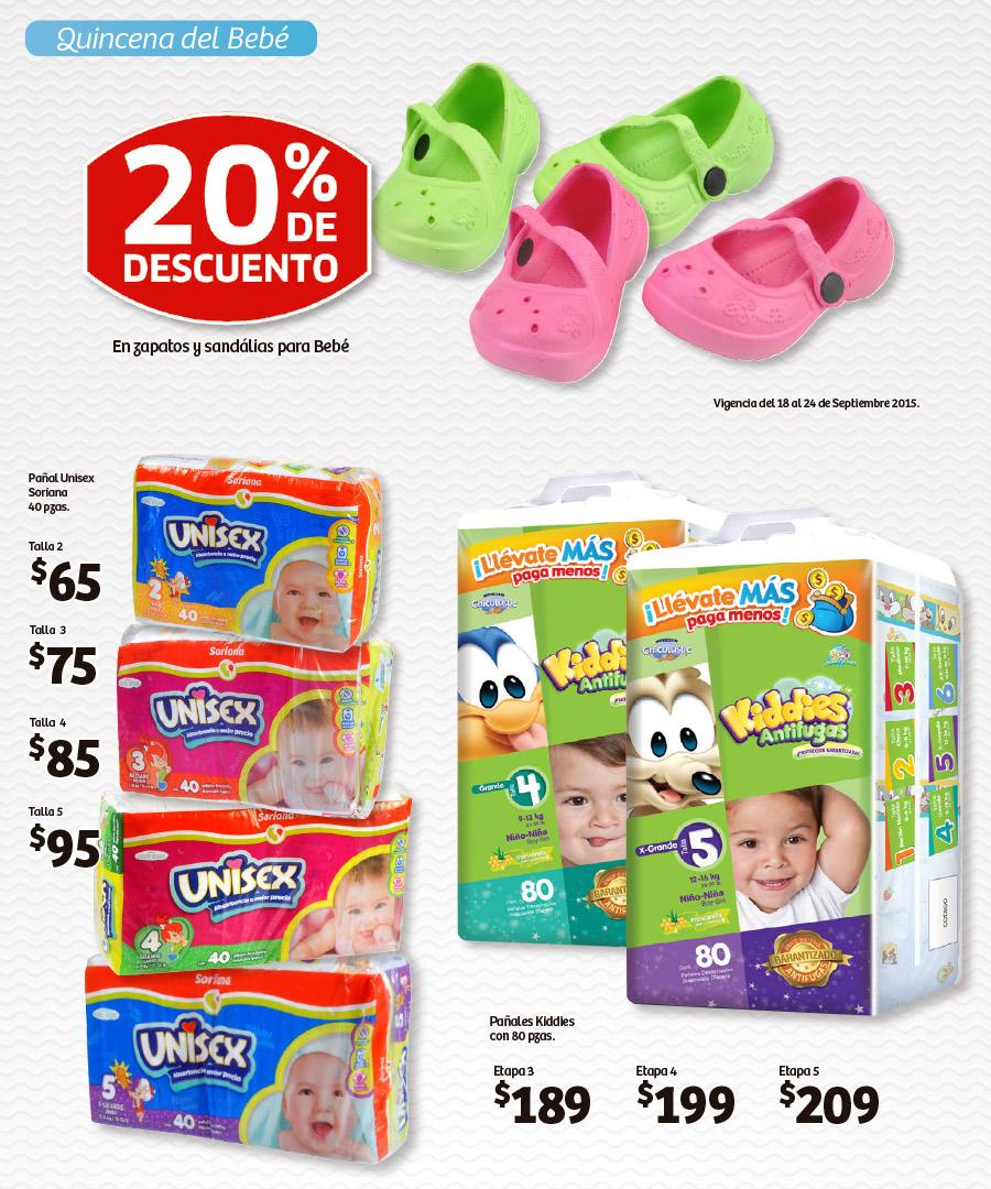 Soriana Hiper: Quincena del Bebe- Pañales Kiddies 80 pzs desde $189