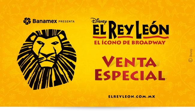 30% de descuento para obra El Rey León con Banamex (DF)