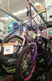 Walmart: bicicleta Monster High a $899.01