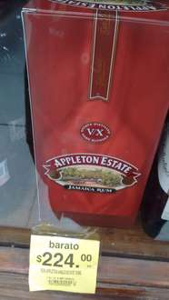Soriana Mercado: Ron Appleton State 750ml a $110
