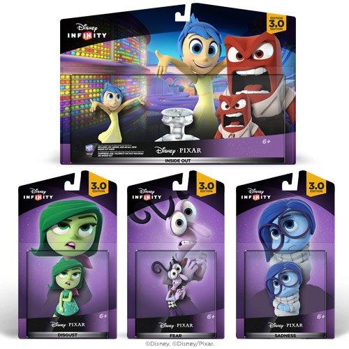 Amazon Mx - Disney Infinity Inside Out Toy Bundle a un súper precio