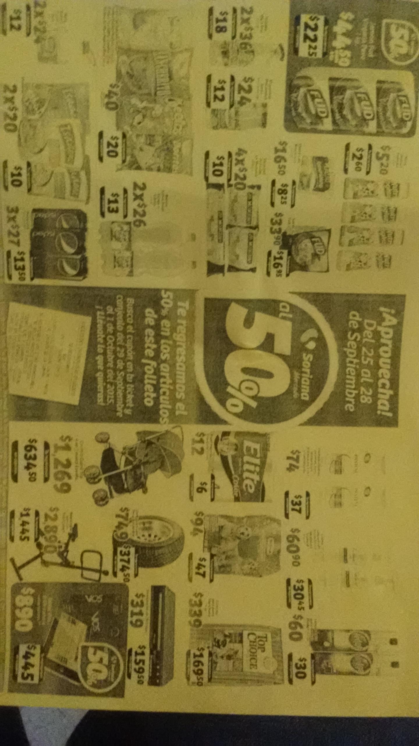 Soriana Mercado: 50% en Cupones