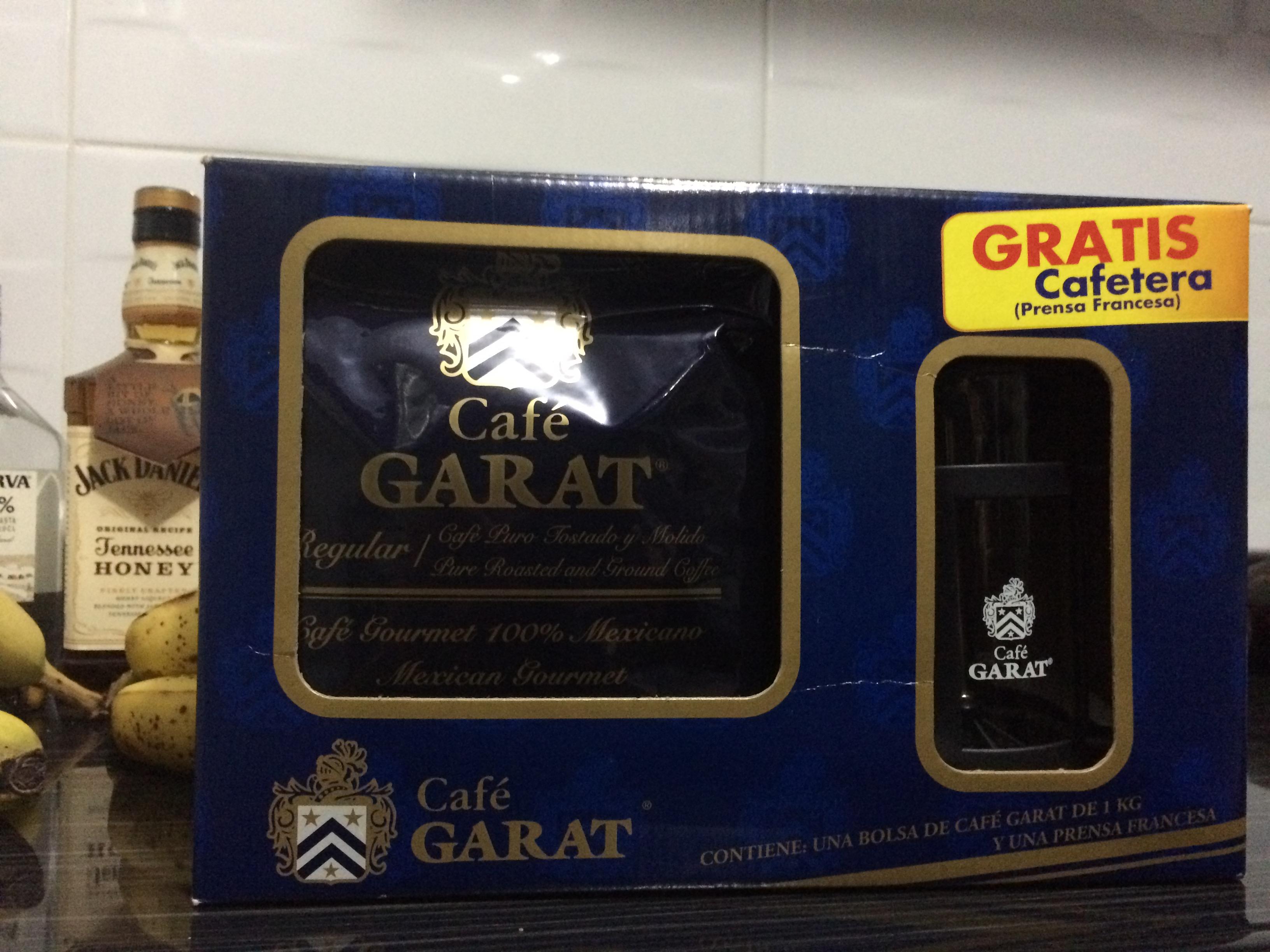Walmart: Café Garat $159 + cafetera prensa francesa de regalo