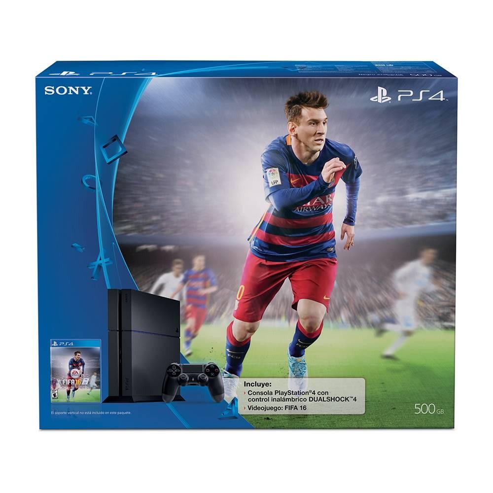 Walmart Online: Preventa PS4 FIFA 16 Bundle