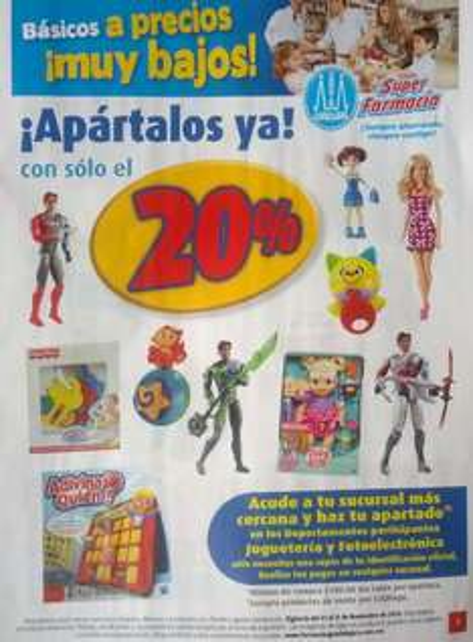 Folleto de ofertas Farmacias Guadalajara del 1 al 15 de noviembre 2013
