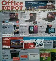 Folleto de ofertas Office Depot noviembre 2013